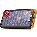 KEDRON Batterie Externe, 24000 mAh Chargeur Solaire Power...