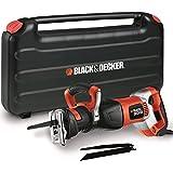 BLACK+DECKER RS1050EK-QS Scie sabre filaire, Vitesse...