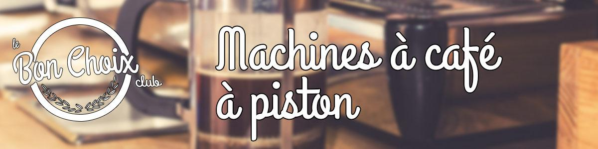 Comparatif CAFETIERE A PISTON