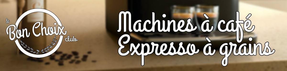 Machine à expresso broyeur à café intégré