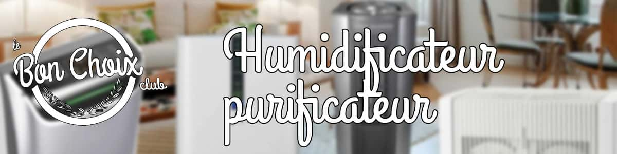 Lequel choisir entre un purificateur d'air et un humidificateur