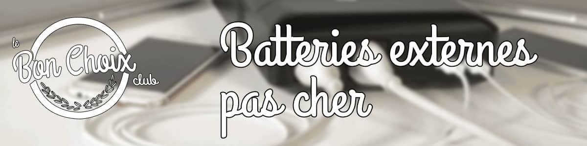 batterie portable pas cher