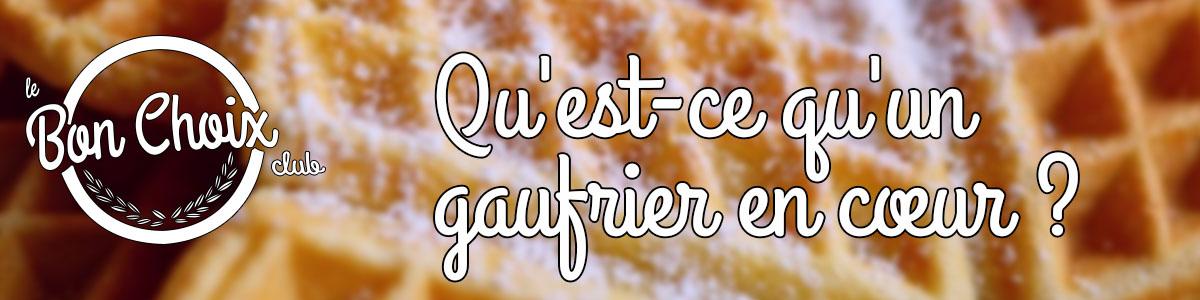 Gaufrier a coeur - Achat / Vente pas cher