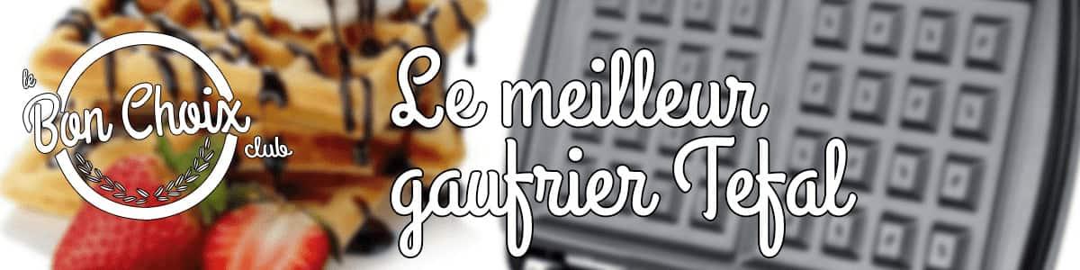 Gaufrier Tefal - Achat / Vente pas cher