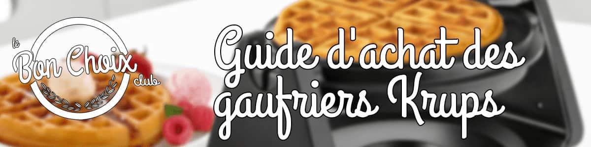 Gaufrier Krups - Achat / Vente pas cher