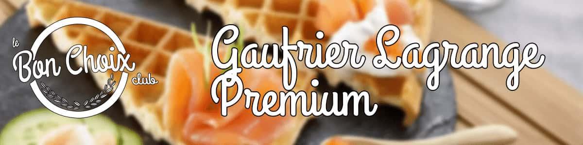 lagrange 019422 gaufrier premium