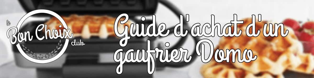 Gaufrier DOMO - Achat, Vente Neuf & d'Occasion