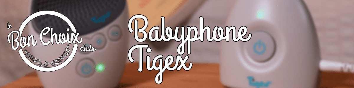 Babyphone Tigex - Achat / Vente écoute bébé pas cher