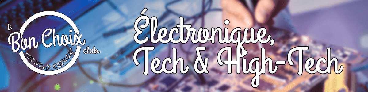 Les produits high-tech