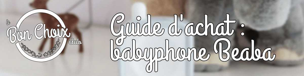 babyphone beaba pas cher ou d'occasion