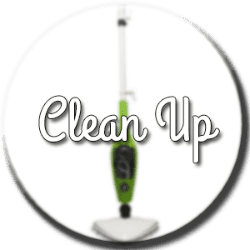 balai vapeur clean up