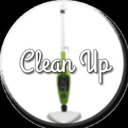 balai vapeur clean up