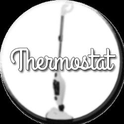 balai vapeur thermostat