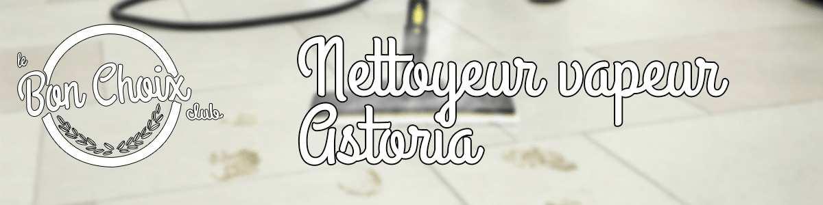 Nettoyeur Vapeur Astoria - Achat / Vente pas cher