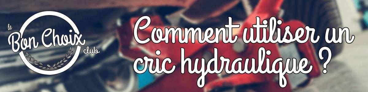 cric hydraulique professionnel pas cher