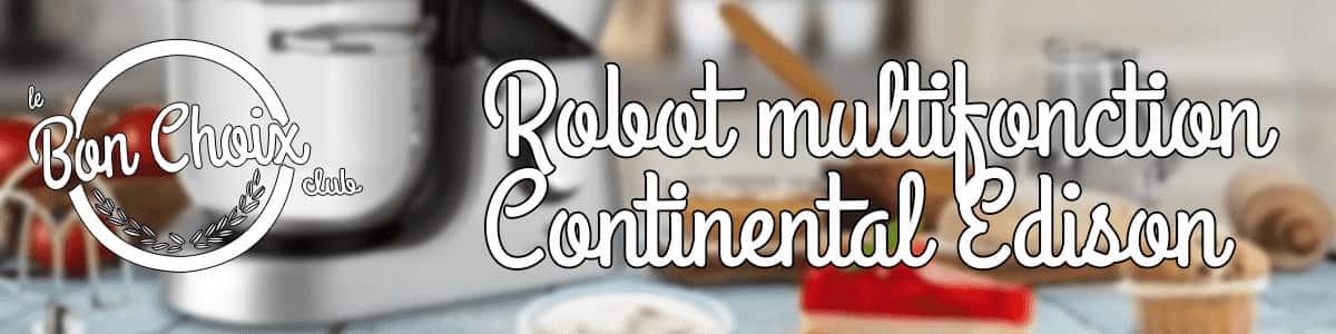 robot patissier continental edison