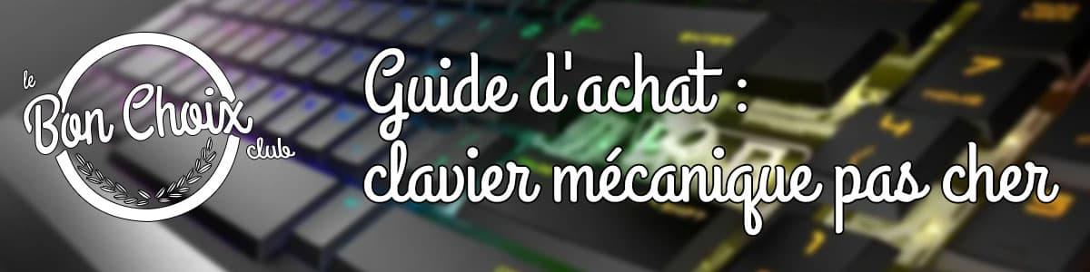 clavier mécanique solde test et avis