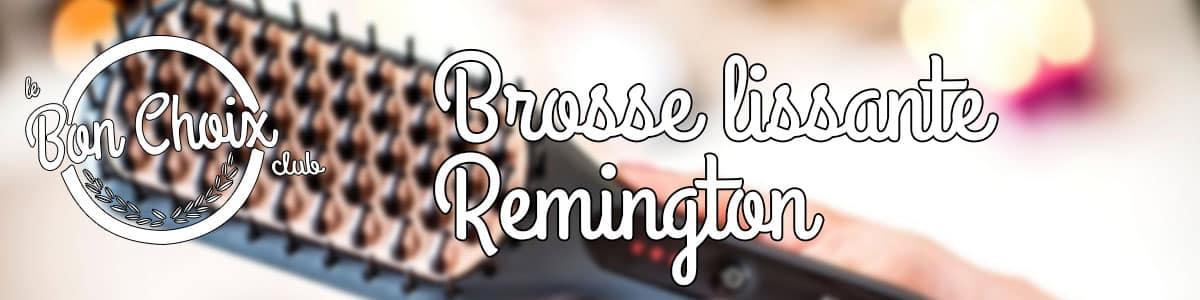 Brosse lissante remington - Achat / Vente pas cher