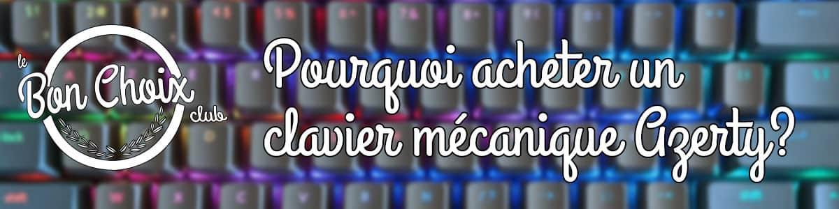 clavier mecanique azerty pas cher