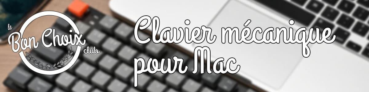 comparatif clavier mécanique mac test et avis