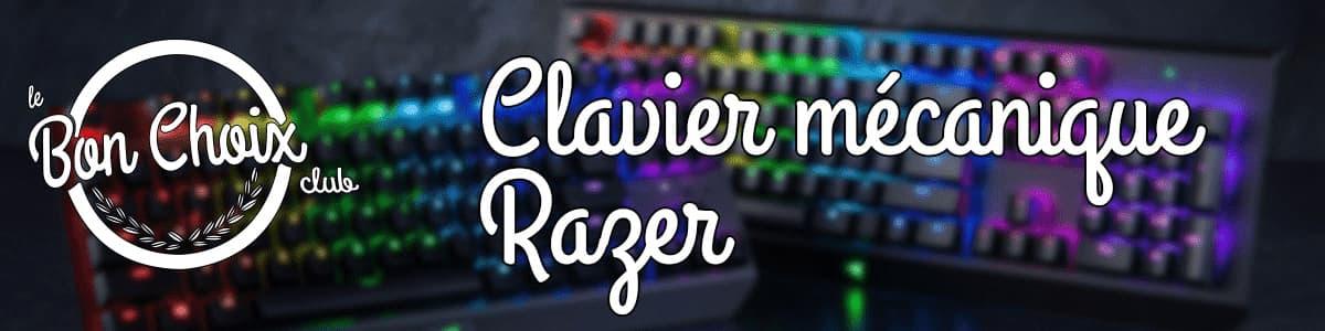 acheter clavier mecanique gaming razer