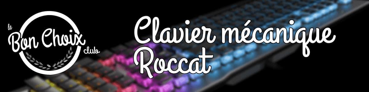 acheter clavier mecanique roccat pas cher