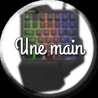 clavier mécanique une main