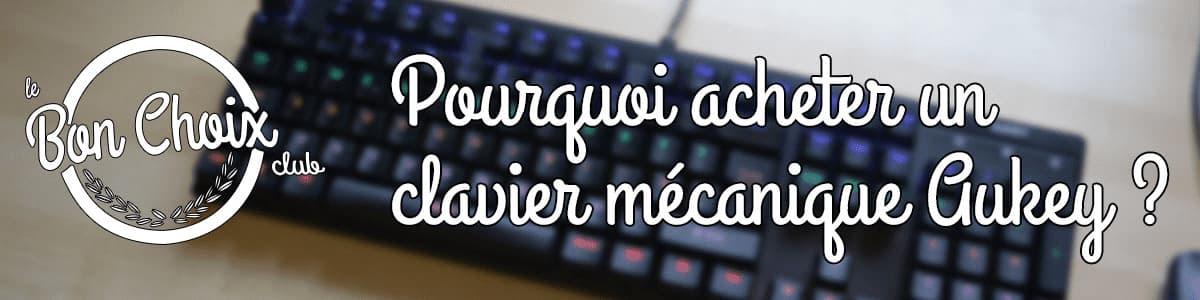 acheter clavier gamer aukey