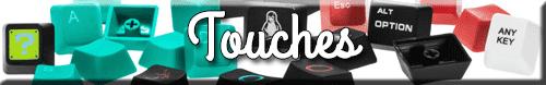 touches clavier mecanique