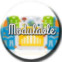 parc bebe modulable