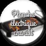 plancha electrique sur chariot