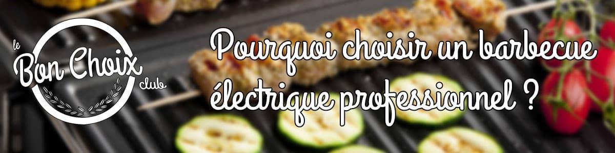 Barbecue electrique: grills professionnels