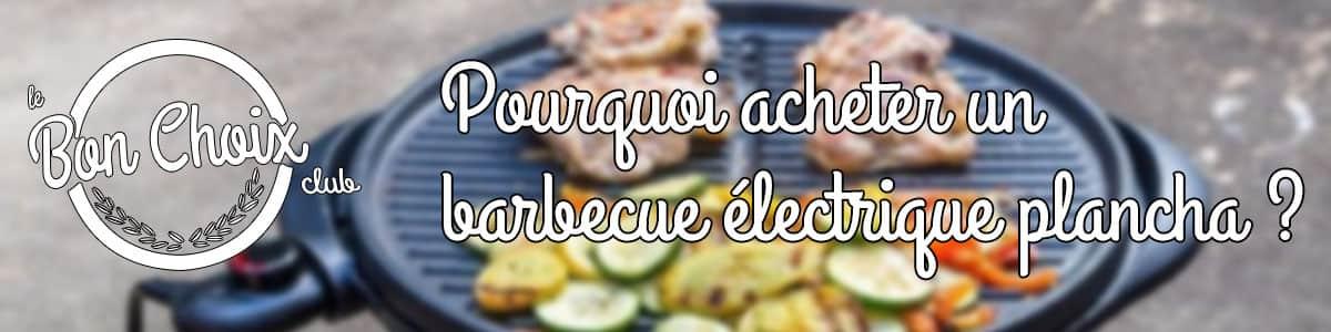 acheter plancha barbecue electrique