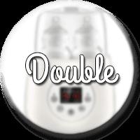 chauffe biberon double